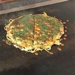 ぷちや - 料理写真:そば入りお好み焼き