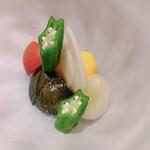 110714753 - 夏野菜の八寸