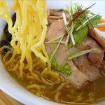 麺屋 ゆ~大 - 塩らーめんの麺
