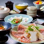 日出町的山荘 - 料理写真:お昼の和ランチ 3,150円(税込) イメージ写真