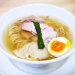 ガチ麺道場 - 鶏と魚の塩そば