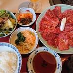 美福苑 - ■焼き肉ランチ1.5倍セット 1840円(内税)■