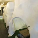 #icafe - かまくら型の半個室