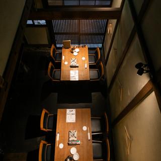 長屋をリノベーションした和の趣を感じる空間◆完全個室完備