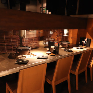 デート~会食も◇カウンター~8名様までご利用可能な個室