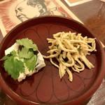 110749101 - ピータン豆腐、押し豆腐