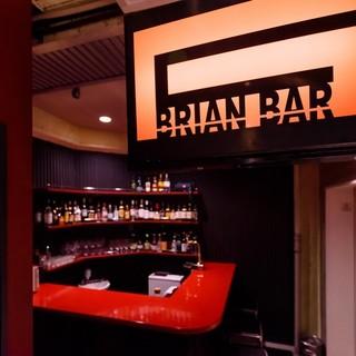 新宿ゴールデン街の伝説BRIANBARも併設