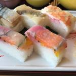 晤寶 - 四種の押し寿司