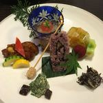 普茶料理 梵 - 笋羹(シュンカン)盛り合わせ