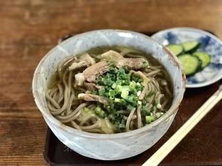 山福 - 肉そば ¥700