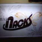 BAR NACKS - 看板、ロゴ