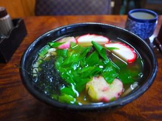 浅田屋 - 白汁のおかめうどん