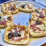チーズ×チーズ Bistro HAYASHI - 油あげのパリッとピザ風¥626(税込)