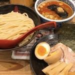 三田製麺所 - 辛つけ麺 中 三田盛り