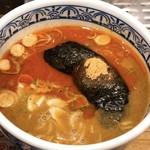 三田製麺所 - 辛つけ汁