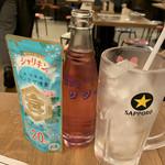 博多満月 - シャリキンバイス450円