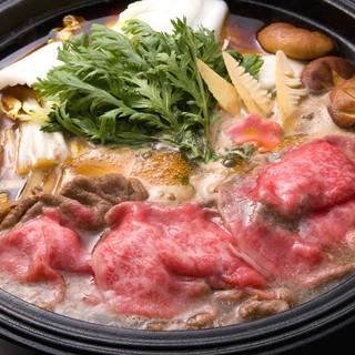 【満喫】選べるすき焼き+2H飲放コース7,980円!