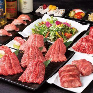 和牛日本一のコースがこの価格で味わえるのは西新宿店のみ!!