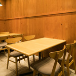 チャヤ ナチュラル&ワイルドテーブル - テーブル 4名