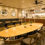 チャヤ ナチュラル&ワイルドテーブル - テーブル 10名