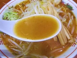 みそラーメンのよし乃 アピア店 - 濃厚豚骨味噌スープ
