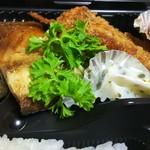 ランチタイム - タンドリーチキン、串カツ、鯖の塩焼き…その他
