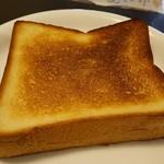 ありあけマルシェ - トースト…美味しゅうございました(^o^)