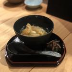 天麩羅と日本酒 天と鮮 さかえみせ - かき揚げ天茶