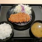 110785568 - 「ロースかつ定食」530円