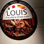 ITALIAN&SPAIN BAR LOUIS - 【2019.7.1(月)】店舗の看板