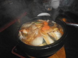 中国料理 廣河 - 石焼おこげ