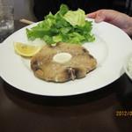 洋食 葉椰子 - 鮪のテールステーキ