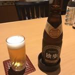 日本料理 吉備膳 - 独歩ビール 1000円(友人注文分)