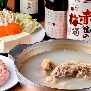 スープは飲みほしたくなるうまさ!自家製ポン酢で味わう水たき