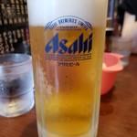 豊洲ラーメン - 生ビール2019.6.22