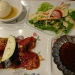 110797519 - ハラミ焼き肉定食