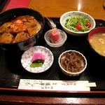 銀座 薩摩しゃも - '08/10 黒豚角煮丼