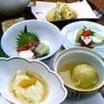 1108879 - 湯葉、お刺身、天ぷら