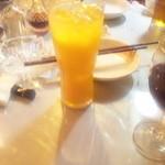 ベトナム料理専門店 サイゴン キムタン - オレンジジュース