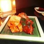勘九朗 - 野菜キムチ盛り合わせ