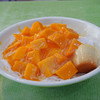 冰讃 - 料理写真:芒果雪花冰(マンゴーかき氷)