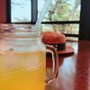 花菜cafe - ドリンク写真:果樹園ソーダ(オレンジ)