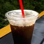 ケーブルカーコーヒー - ドリンク写真:アイスコーヒー370円