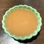 そば丸 - そばこんにゃく刺し身の酢味噌