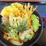 HARERUYA - 料理写真:野菜天ぷらうどん