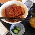 仁亭 - 料理写真:デミカツ丼