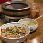 炭焼き崇洞 - 料理写真:炭焼きカルビ丼