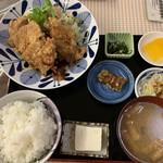 きらく園 - トリパリ定食  850円