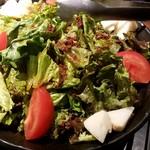 個室と和食 和菜美 - 筍の春野菜のサラダ