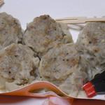 茶寮 - 肉シュウマイ5個入り700円